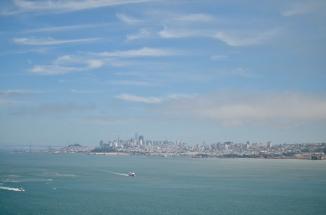 Utsikt över San Fransisco